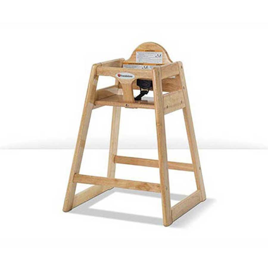 SOLID WOOD HIGH CHAIR BY FOUNDATIONS