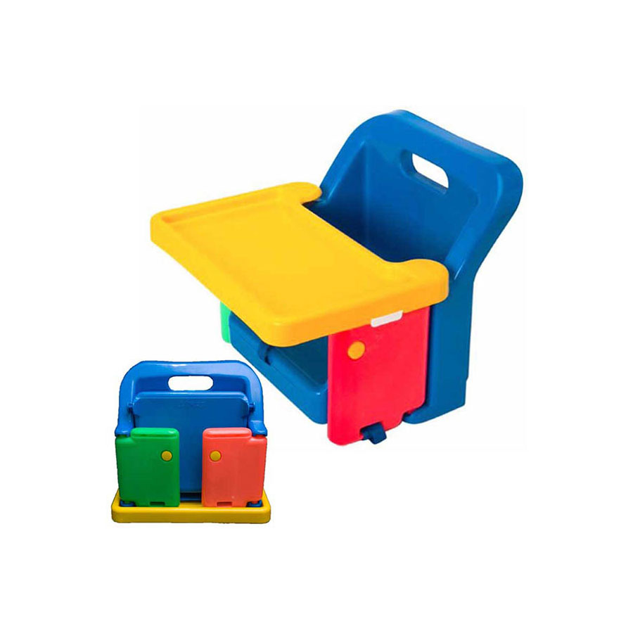 SAFETY 1st FOLDING BOOSTER SEAT WITH TRAY