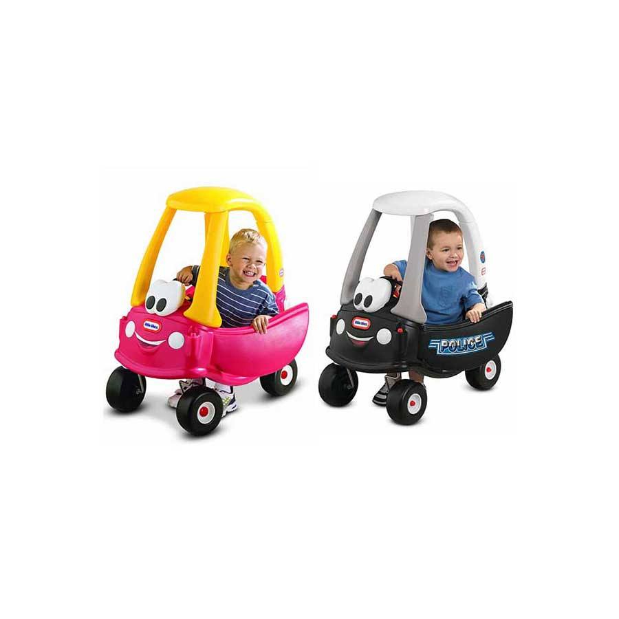 CHOICE OF LITTLE TIKES FLINSTONE OR PATROL THEMED COZY COUPES