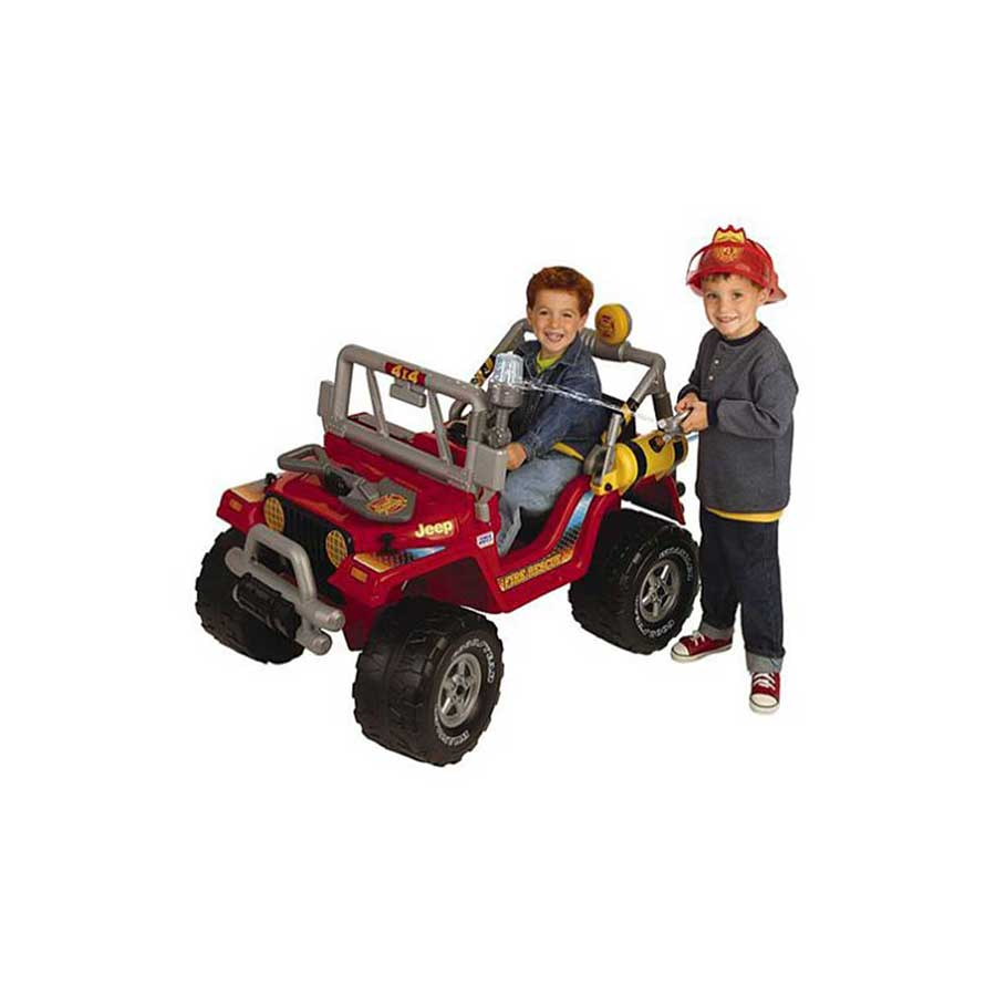 FISHER PRICE POWER WHEELS FIRE ENGINE JEEP