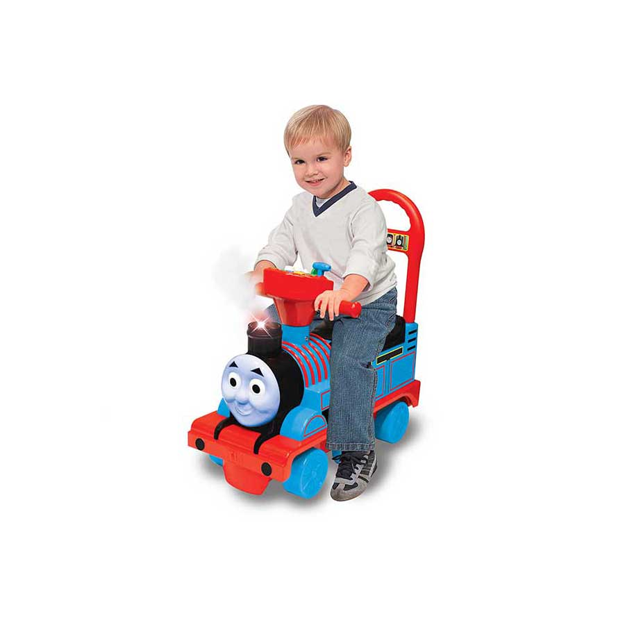 THOMAS THE TRAIN FOOT-TO-FLOOR RIDE ON TOY BY KIDDIELAND