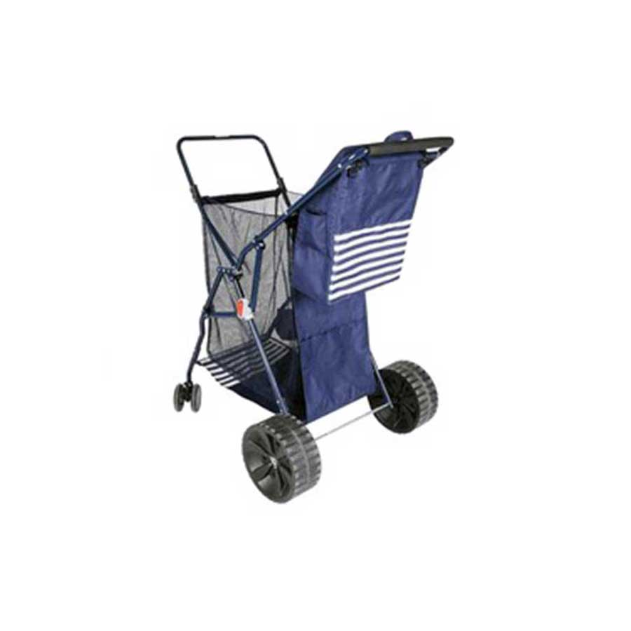 FOLDING BEACH CART WITH REMOVABLE COOLER