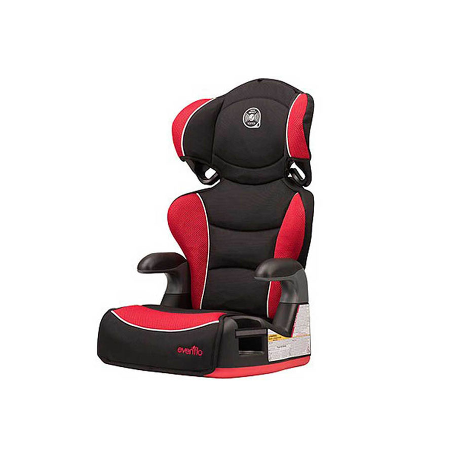 EVENFLO BIG KIDS BOOSTER/CAR SEAT WITH HIGH BACK