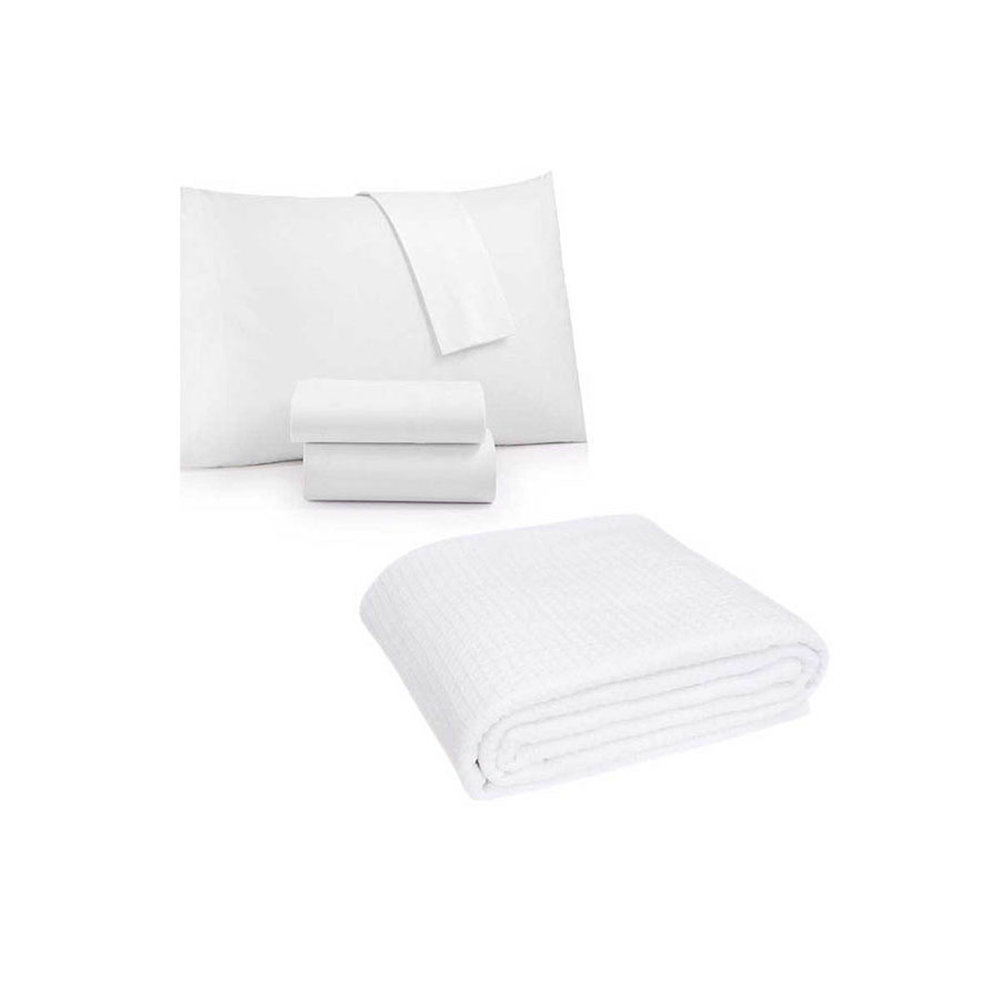 DELUXE TWIN SIZE BEDDING PACKAGE