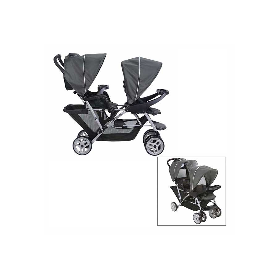 GRACO FRONT/BACK CLICK CONNECT DOUBLE STROLLER