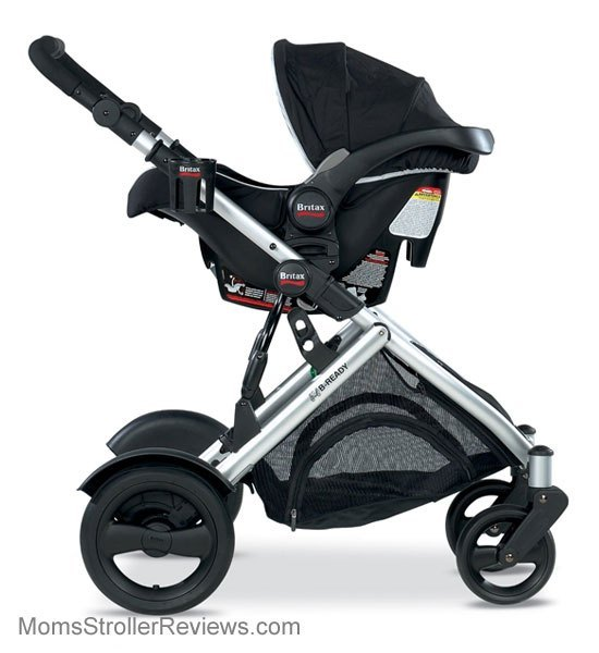 COMBO B-READY STROLLER W/ BRITAX INFANT CAR SEAT