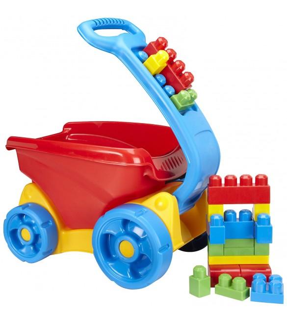 Mega Bloks Fill And Dump Wagon Wagon