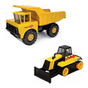 SET OF TWO TONKA TOY TRUCKS
