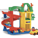 FISHER PRICE RACING RAMPS GARAGE SET