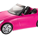 BARBIE DOLL CONVERTIBLE CAR