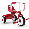 RADIO FLYER RED FOLD2GO TRICYCLES