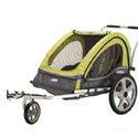 INSTEP 2-SEAT KIDS BIKE TRAILER