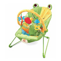 FISHER PRICE BABY BOUNCER SEAT WITH TOY FRIENDS
