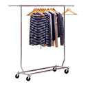 METAL FOLDING CLOTHING RACK