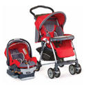 COMBO CHICCO CORTINA STROLLER WITH CHICCO CAR SEAT TRAVEL SYSTEM