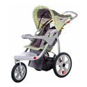 INSTEP JOGGING STROLLER WITH SWIVEL WHEELS