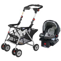 GRACO SNUGRIDER STROLLER/CARSEAT TRAVEL COMBO