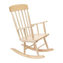 ADULT FARMHOUSE STYLE ROCKING CHAIR