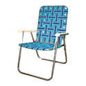 SEASIDE FOLDING BEACH/LAWN CHAIR
