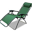OUTSUNNY ZERO-GRAVITY RECLINER POOL LOUNGER