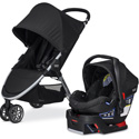 COMBO BRITAX B-AGILE STROLLER AND CAR SEAT