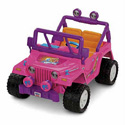 FISHER PRICE POWER WHEELS BARBIE JEEP